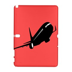 Air Plane Boeing Red Black Fly Galaxy Note 1