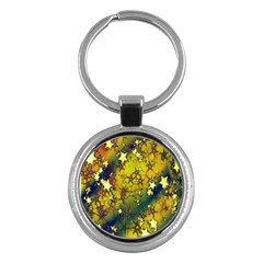 Advent Star Christmas Key Chains (round)  by Nexatart