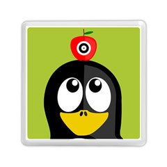 Animals Penguin Memory Card Reader (square)