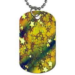 Advent Star Christmas Dog Tag (one Side) by Nexatart
