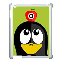 Animals Penguin Apple Ipad 3/4 Case (white)