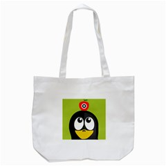 Animals Penguin Tote Bag (white) by Alisyart