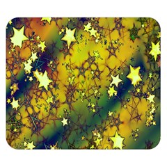 Advent Star Christmas Double Sided Flano Blanket (small)  by Nexatart