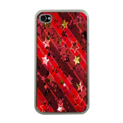 Advent Star Christmas Poinsettia Apple Iphone 4 Case (clear) by Nexatart