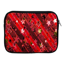 Advent Star Christmas Poinsettia Apple Ipad 2/3/4 Zipper Cases by Nexatart