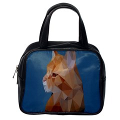 Animals Face Cat Classic Handbags (one Side) by Alisyart