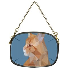 Animals Face Cat Chain Purses (one Side)  by Alisyart