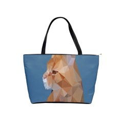 Animals Face Cat Shoulder Handbags by Alisyart