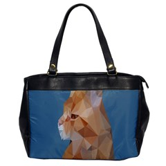 Animals Face Cat Office Handbags by Alisyart