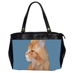 Animals Face Cat Office Handbags (2 Sides)  by Alisyart