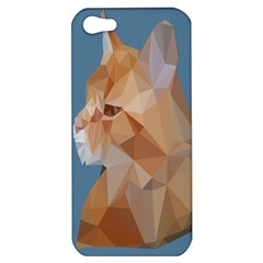 Animals Face Cat Apple Iphone 5 Hardshell Case