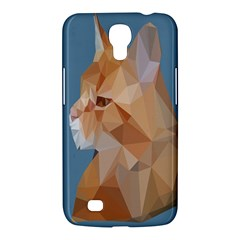 Animals Face Cat Samsung Galaxy Mega 6 3  I9200 Hardshell Case by Alisyart