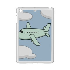 Airplane Fly Cloud Blue Sky Plane Jpeg Ipad Mini 2 Enamel Coated Cases