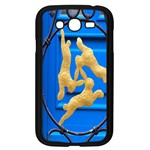 Animal Hare Window Gold Samsung Galaxy Grand DUOS I9082 Case (Black) Front