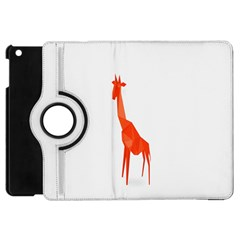 Animal Giraffe Orange Apple Ipad Mini Flip 360 Case