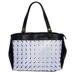 Arrows Blue Office Handbags