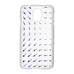 Arrows Blue Samsung Galaxy S5 Case (white)