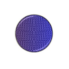 Calm Wave Blue Flag Hat Clip Ball Marker