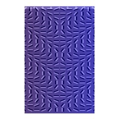 Calm Wave Blue Flag Shower Curtain 48  X 72  (small)  by Alisyart