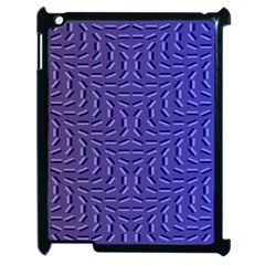 Calm Wave Blue Flag Apple Ipad 2 Case (black)