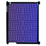 Calm Wave Blue Flag Apple iPad 2 Case (Black) Front