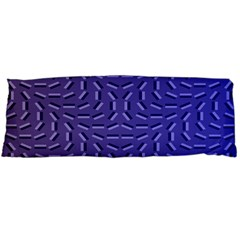 Calm Wave Blue Flag Body Pillow Case (dakimakura)