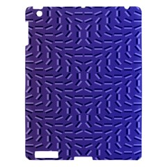 Calm Wave Blue Flag Apple Ipad 3/4 Hardshell Case