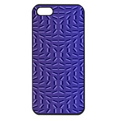 Calm Wave Blue Flag Apple Iphone 5 Seamless Case (black)