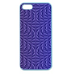 Calm Wave Blue Flag Apple Seamless Iphone 5 Case (color) by Alisyart