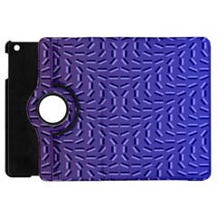 Calm Wave Blue Flag Apple Ipad Mini Flip 360 Case