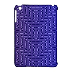 Calm Wave Blue Flag Apple Ipad Mini Hardshell Case (compatible With Smart Cover) by Alisyart