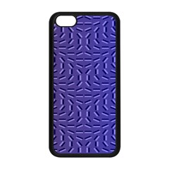 Calm Wave Blue Flag Apple Iphone 5c Seamless Case (black) by Alisyart