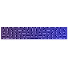 Calm Wave Blue Flag Flano Scarf (large)