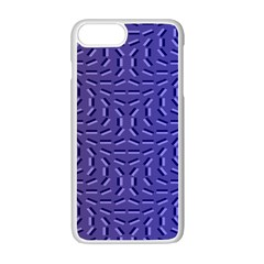 Calm Wave Blue Flag Apple Iphone 7 Plus White Seamless Case by Alisyart