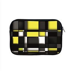Color Geometry Shapes Plaid Yellow Black Apple Macbook Pro 15  Zipper Case by Alisyart