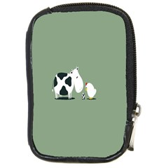 Cow Chicken Eggs Breeding Mixing Dominance Grey Animals Compact Camera Cases by Alisyart