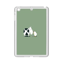 Cow Chicken Eggs Breeding Mixing Dominance Grey Animals Ipad Mini 2 Enamel Coated Cases