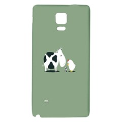 Cow Chicken Eggs Breeding Mixing Dominance Grey Animals Galaxy Note 4 Back Case