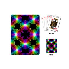 Circle Color Flower Playing Cards (mini)