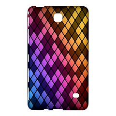 Colorful Abstract Plaid Rainbow Gold Purple Blue Samsung Galaxy Tab 4 (8 ) Hardshell Case