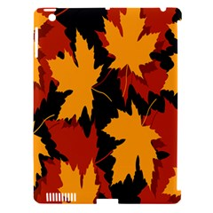 Dried Leaves Yellow Orange Piss Apple Ipad 3/4 Hardshell Case (compatible With Smart Cover) by Alisyart