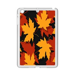 Dried Leaves Yellow Orange Piss Ipad Mini 2 Enamel Coated Cases