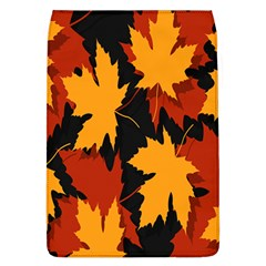 Dried Leaves Yellow Orange Piss Flap Covers (l)