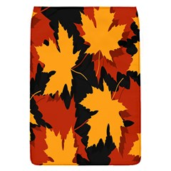 Dried Leaves Yellow Orange Piss Flap Covers (s)  by Alisyart