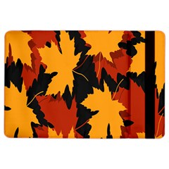 Dried Leaves Yellow Orange Piss Ipad Air 2 Flip by Alisyart