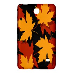 Dried Leaves Yellow Orange Piss Samsung Galaxy Tab 4 (8 ) Hardshell Case