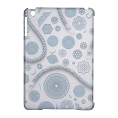 Eguipment Grey Apple Ipad Mini Hardshell Case (compatible With Smart Cover) by Alisyart