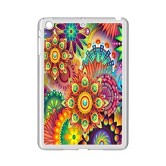 Colorful Abstract Flower Floral Sunflower Rose Star Rainbow Ipad Mini 2 Enamel Coated Cases