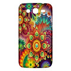Colorful Abstract Flower Floral Sunflower Rose Star Rainbow Samsung Galaxy Mega 5 8 I9152 Hardshell Case