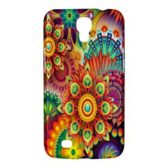 Colorful Abstract Flower Floral Sunflower Rose Star Rainbow Samsung Galaxy Mega 6 3  I9200 Hardshell Case by Alisyart